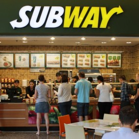 Прибыльное кафе Subway рядом Савеловский вокзал