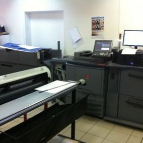 Цифровая типография в БЦ по стоимости оборудования
