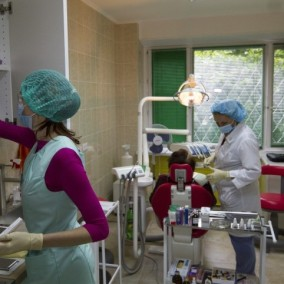 Мед.центр с дневным стационаром, стоматологией и дорогим ремонтом