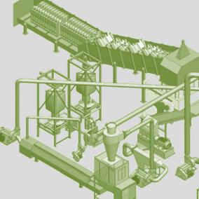 Завод строительного утеплителя №1 на рынке, по цене  оборудования