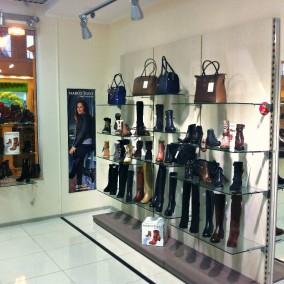 Магазин обуви известных европейских брендов в ТЦ
