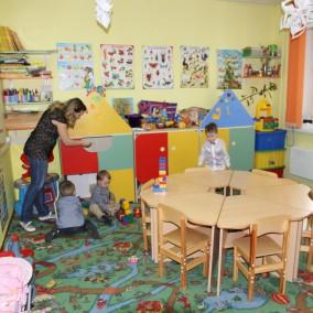 Детский клуб в новом микрорайоне Москвы
