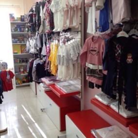 Сеть магазинов детской одежды в густонаселенных районах Москвы