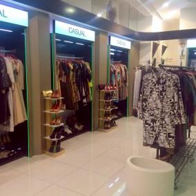 Брендовый бутик женских платьев с товарным остатком на 7.5 млн. рублей