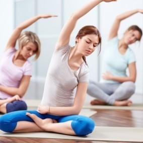 Атмосферная йога студия c активно растущей базой клиентов