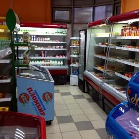 Продуктовый минимаркет с поддержкой METRO