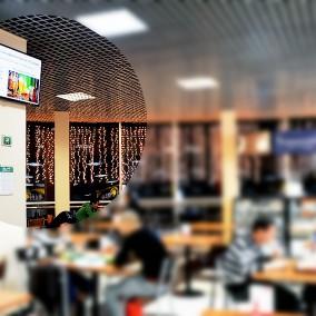 Растущая сеть из 59 рекламных мониторов с монополией в городе