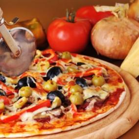 Известная пиццерия в торговом центре