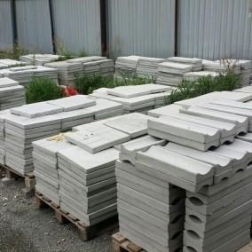 Производство тротуарной плитки с участком земли и недвижимостью