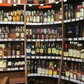 Алкогольный бутик в ЦАО