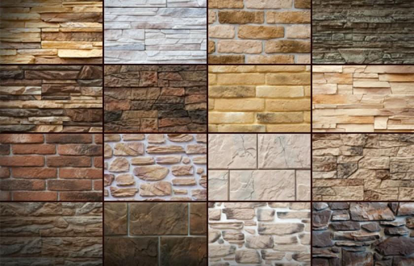 Облицовка стен искусственным камнем