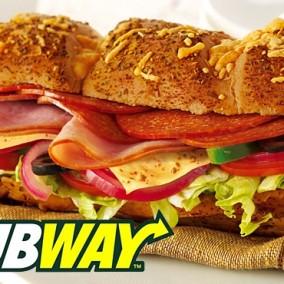 Ресторан быстрого обслуживания Subway!
